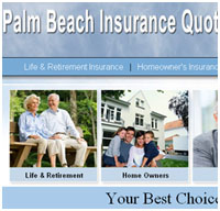 Palm Beach County Insurance Web Design