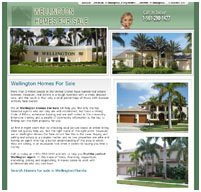 web design wellington palm beach fl real estate