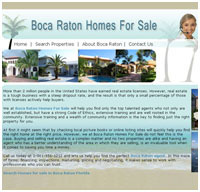 web design real estate Boca Raton