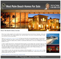 West Palm Beach real estate website designers