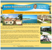 website designer for real estate in Boynton Beach